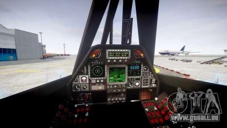 Lockheed F-117 Nighthawk pour GTA 4 Vue arrière de la gauche