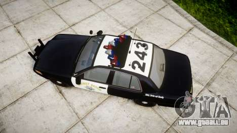 Ford Crown Victoria Highway Patrol [ELS] Vision pour GTA 4 est un droit