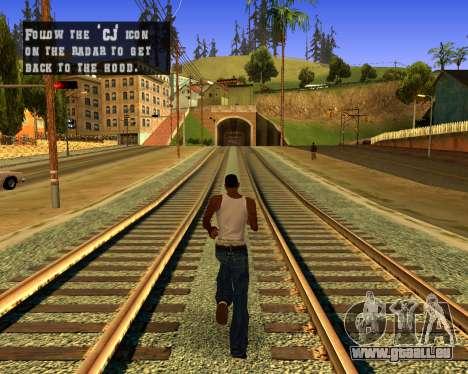 Colormod Dark Low pour GTA San Andreas deuxième écran