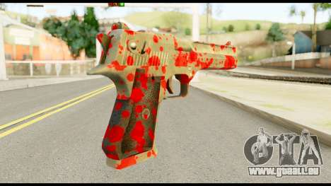 Desert Eagle with Blood für GTA San Andreas
