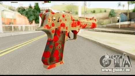 Desert Eagle with Blood pour GTA San Andreas deuxième écran