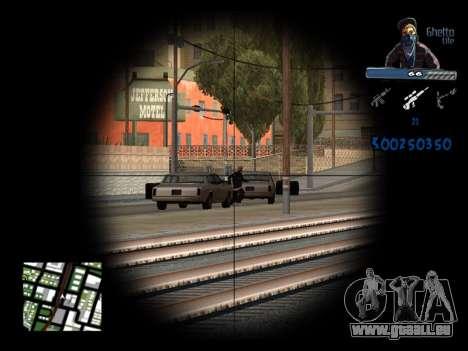 C-HUD Unique Ghetto für GTA San Andreas sechsten Screenshot