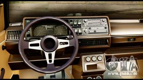 Volkswagen Jetta A2 Coupe für GTA San Andreas zurück linke Ansicht