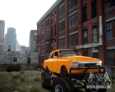 Moskwitsch 412 Monster für GTA 4 linke Ansicht