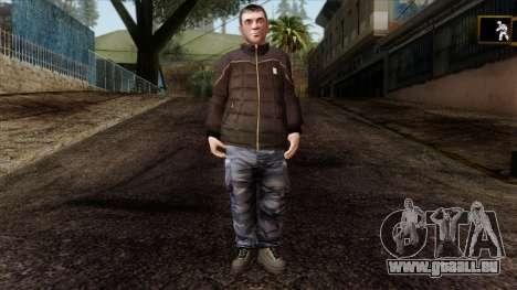 GTA 4 Skin 87 pour GTA San Andreas