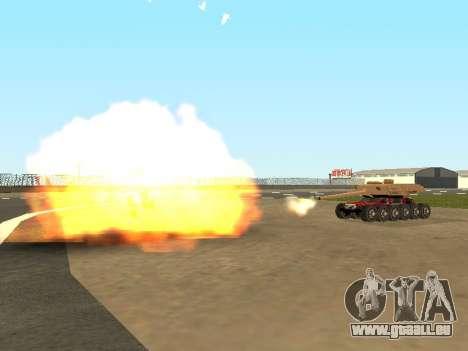 Tink Tank für GTA San Andreas Seitenansicht