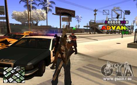 C-HUD Advance RP für GTA San Andreas zweiten Screenshot