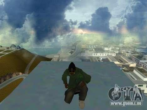 Ryder Skin Grove St. Family für GTA San Andreas dritten Screenshot