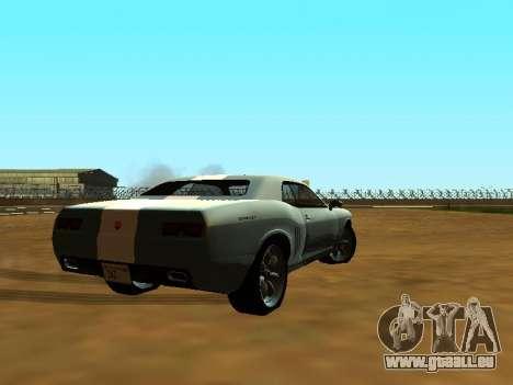 GTA 5 Bravado Gauntlet pour GTA San Andreas vue de dessous
