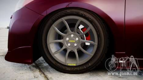 Toyota Prius pour GTA 4 Vue arrière
