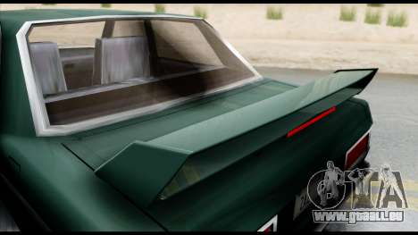 Admiral Camber Edition pour GTA San Andreas sur la vue arrière gauche