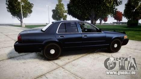 Ford Crown Victoria Police Interceptor [Retired] für GTA 4 linke Ansicht