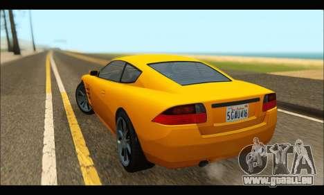 Ocelot  F620 (GTA V) für GTA San Andreas zurück linke Ansicht