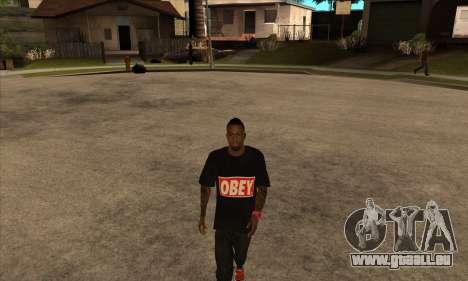 Obey Nigga für GTA San Andreas zweiten Screenshot