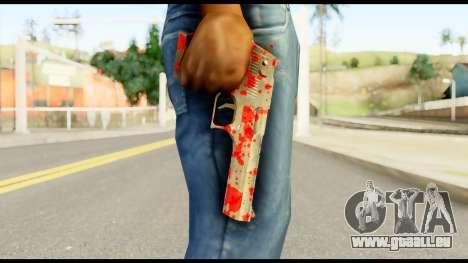 Desert Eagle with Blood pour GTA San Andreas troisième écran