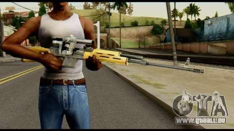 SVD from Max Payne für GTA San Andreas dritten Screenshot