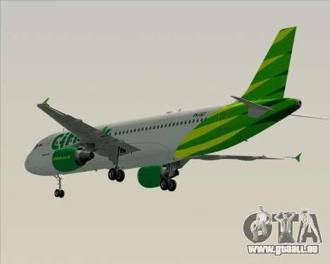 Airbus A320-200 Citilink für GTA San Andreas rechten Ansicht