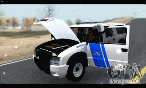 Chevrolet S-10 P.N.A für GTA San Andreas Rückansicht