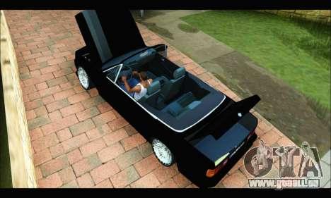 BMW M3 E30 für GTA San Andreas zurück linke Ansicht
