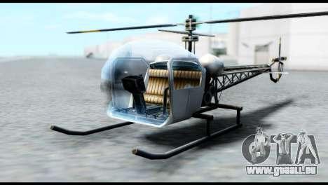 Beta Sparrow pour GTA San Andreas