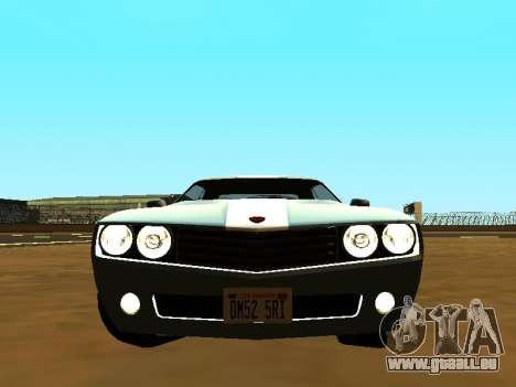 GTA 5 Bravado Gauntlet pour GTA San Andreas vue arrière