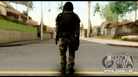 Support Troop from Battlefield 4 v2 pour GTA San Andreas deuxième écran