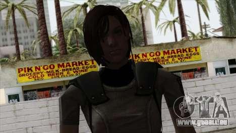 Resident Evil Skin 4 pour GTA San Andreas troisième écran