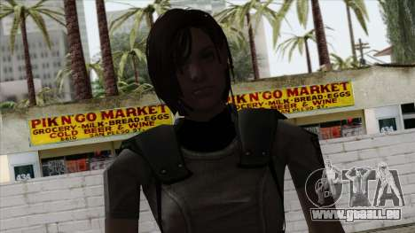 Resident Evil Skin 4 für GTA San Andreas dritten Screenshot