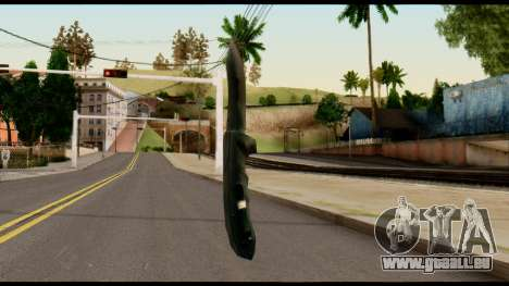 Solidsnake CQC Knife from Metal Gear Solid für GTA San Andreas zweiten Screenshot