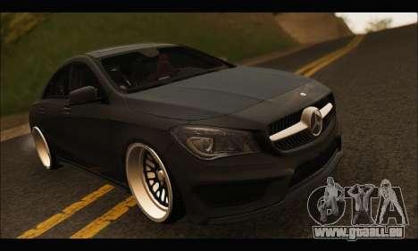 Mercedes Benz CLA 250 2014 pour GTA San Andreas vue intérieure