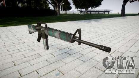 Die M16A2 Gewehr Warschau für GTA 4