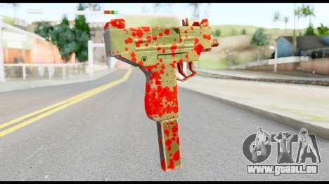 Micro SMG with Blood für GTA San Andreas zweiten Screenshot