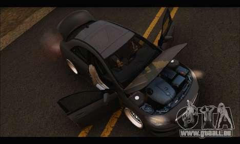 Mercedes Benz CLA 250 2014 pour GTA San Andreas vue de côté