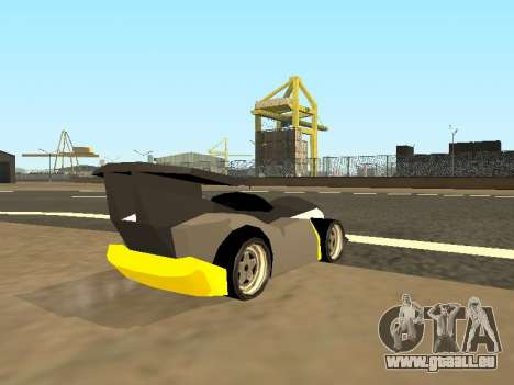 RC Bandit (Automotive) pour GTA San Andreas laissé vue