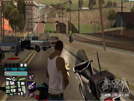 Beautiful C-HUD für GTA San Andreas dritten Screenshot