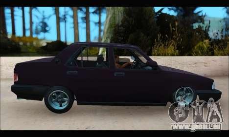 Tofas Dogan S pour GTA San Andreas laissé vue
