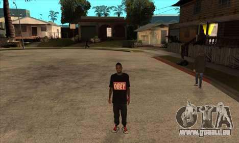 Obey Nigga für GTA San Andreas dritten Screenshot