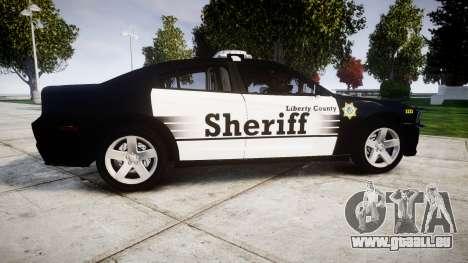 Dodge Charger 2013 County Sheriff [ELS] v3.2 für GTA 4 linke Ansicht