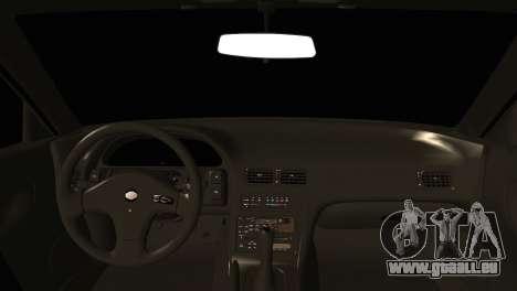 Nissan Silvia S13 Sileighty Drift Moster für GTA San Andreas zurück linke Ansicht
