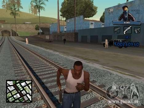 C-HUD Unique Ghetto für GTA San Andreas zweiten Screenshot
