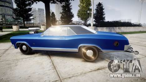 GTA V Albany Buccaneer Little Wheel für GTA 4 linke Ansicht