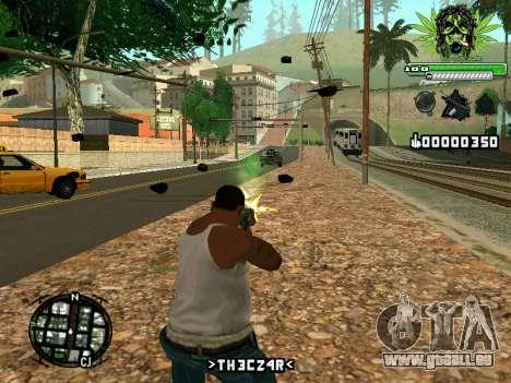 C-HUD Marihaus pour GTA San Andreas deuxième écran