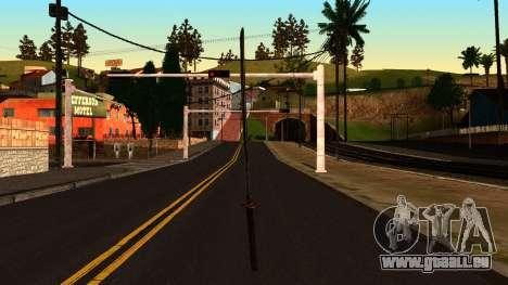 Katana from Shadow Warrior pour GTA San Andreas