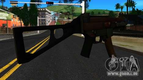 UMP9 from Battlefield 4 v1 pour GTA San Andreas deuxième écran
