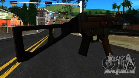 UMP9 from Battlefield 4 v1 für GTA San Andreas zweiten Screenshot