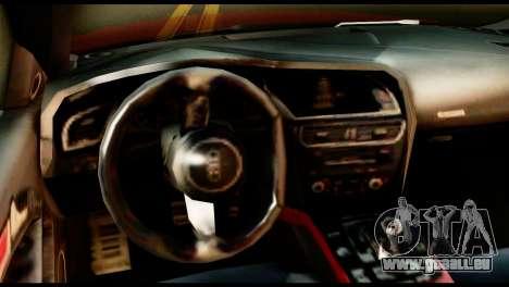Audi RS5 2013 pour GTA San Andreas sur la vue arrière gauche