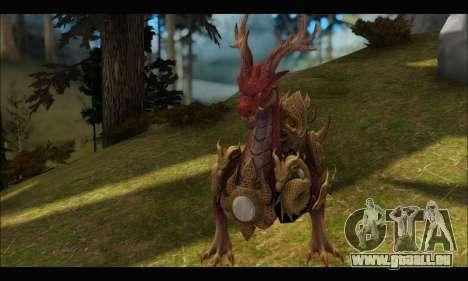 Kirin Dragon (TERA Online) für GTA San Andreas dritten Screenshot