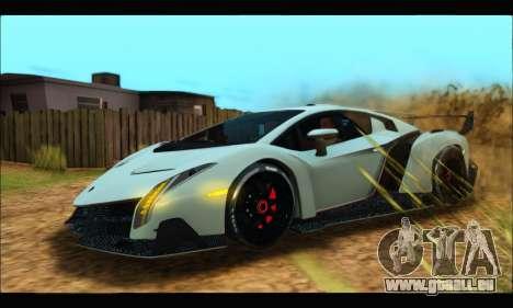 Lamborghini Veneno 2013 HQ pour GTA San Andreas
