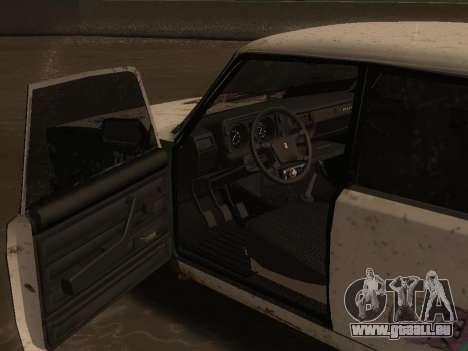 VAZ 2105 Rusty Trog für GTA San Andreas rechten Ansicht