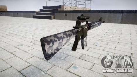 Le M16A2 fusil [optique] sibérie pour GTA 4 secondes d'écran